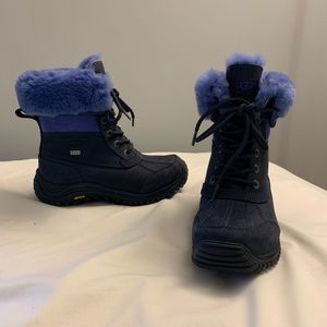 UGG Adirondack Boot II Navy Blue